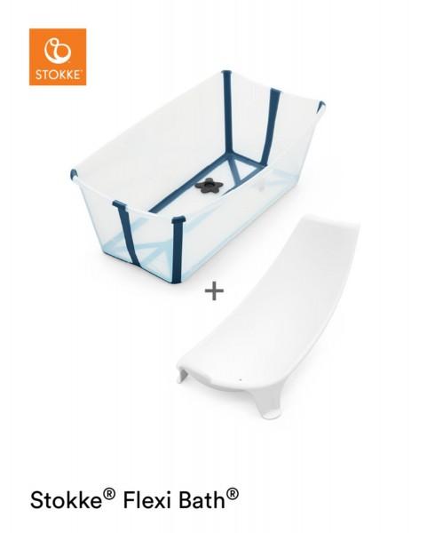 STOKKE® Flexi Bath Bundle Transparent Blue