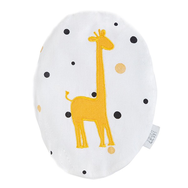 ZEWI bébé-jou Traubenkernkissen Giraffe-golden Points