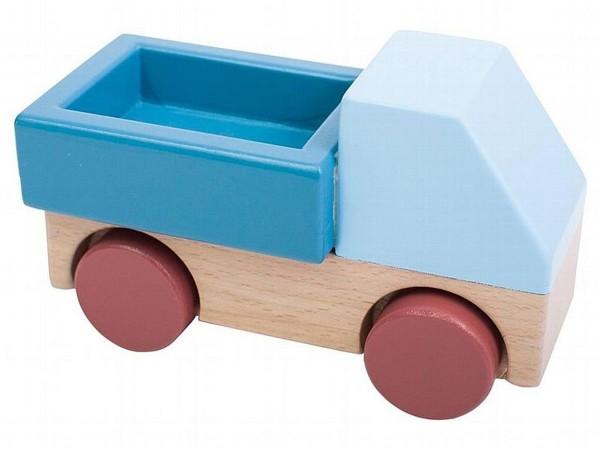 SEBRA Wagen aus Holz, steinblau