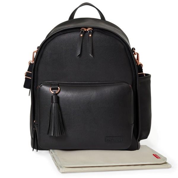 SKIP HOP Greenwich Simply Chic Backpack / Rucksack Black