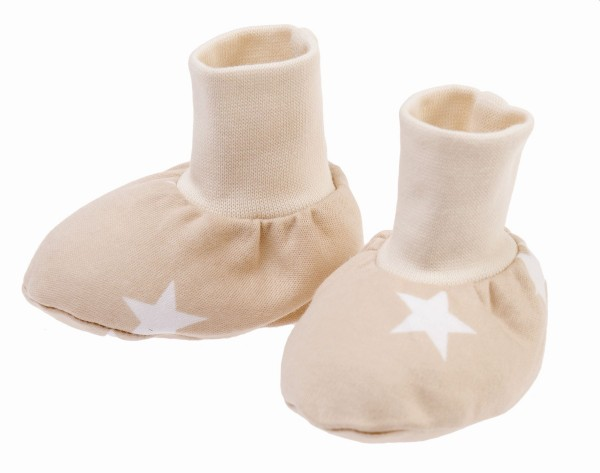 ZEWI bébé-jou Finkli-beige Stars Gr. S