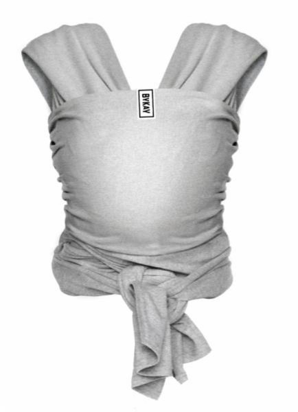 BYKAY Tragetuch, Stretchy Deluxe Grey
