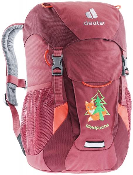 DEUTER Waldfuchs Kinder-Rucksack cardinal-maron