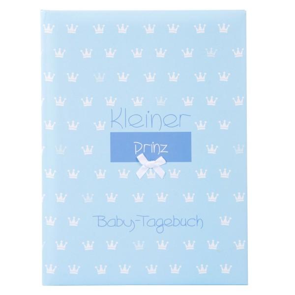 GOLDBUCH Babytagebuch Kleiner Prinz blau