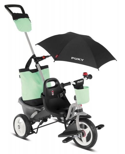 PUKY Ceety Comfort 4 in 1 Dreirad lichtgrau