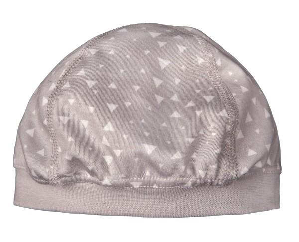 ZEWI bébé-jou Mütze-grau Gr. XS