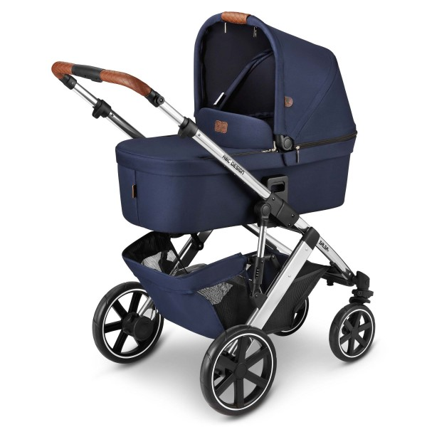 ABC DESIGN Kinderwagen Salsa 4 incl. Sportsitz und Tragewanne - Fashion navy