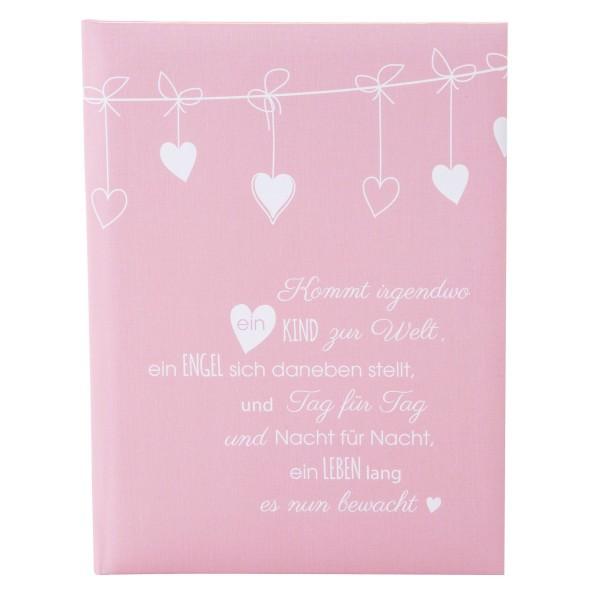 GOLDBUCH Babytagebuch Poetry pink