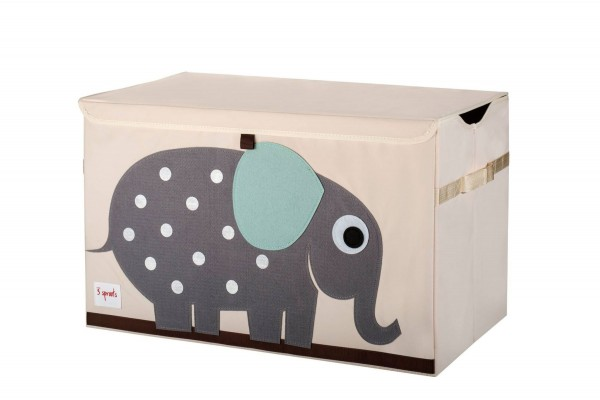 3 SPROUTS Spielzeugkiste Elefant