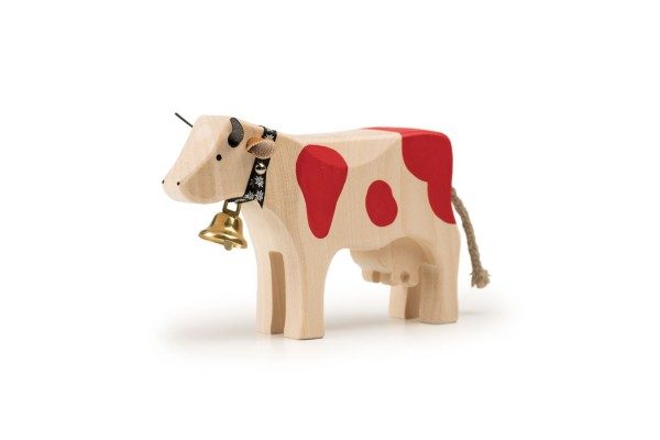 TRAUFFER Kuh 2 stehend rot