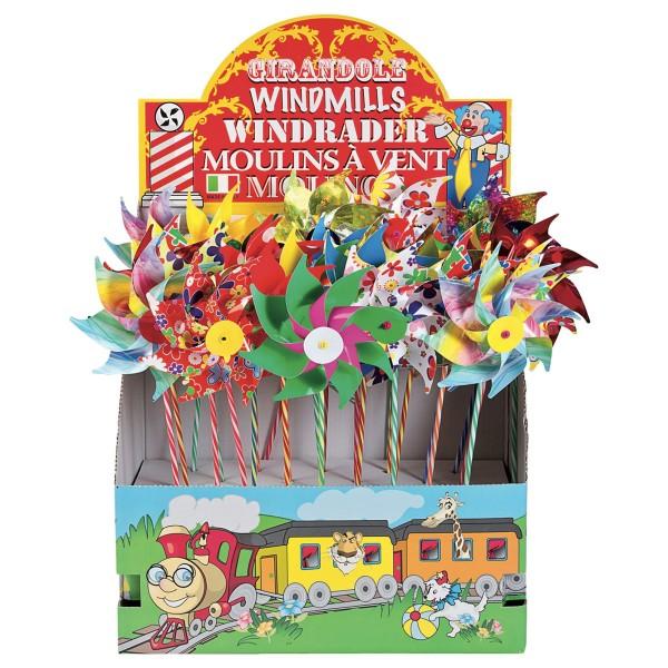 GIOBAS Windrad Fantasy assortiert