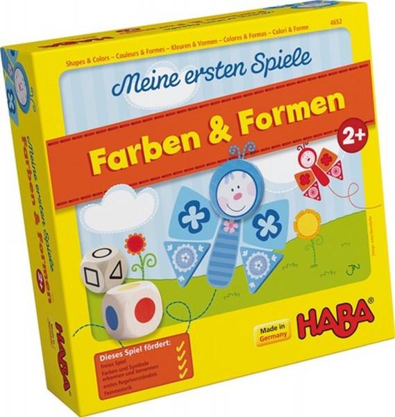 HABA Meine ersten Spiele Farben&Formen