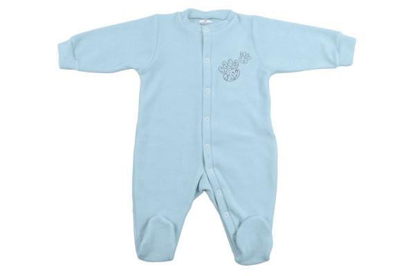 ZEWI bébé-jou Kombi Frottee-blue Leopard