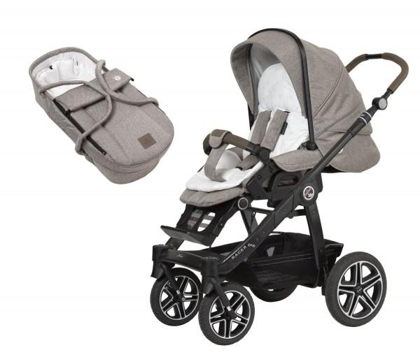 HARTAN Racer GTS Set-Angebot, Kinderwagen mit Kombi-Tasche Belly Button 437