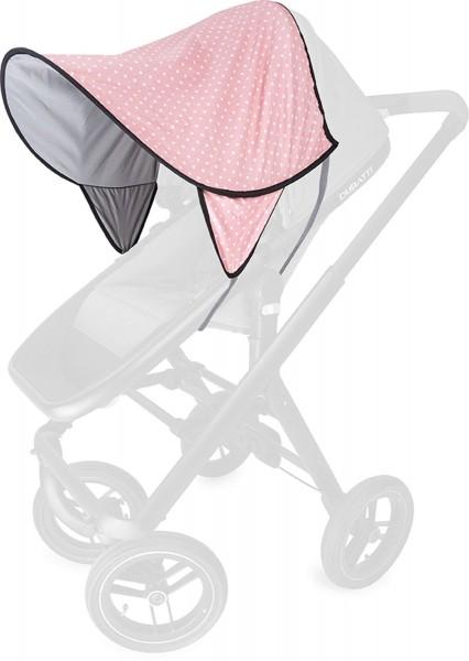 LIEBES VON PRIEBES Daisy Sonnendach Kiwa UV 50+ dots rosé grau