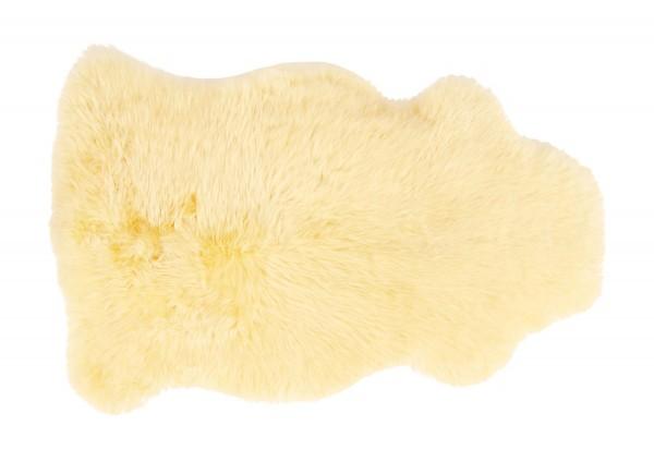 RÄTISCHE GERBEREI Baby-Lammfell 80-90cm, vollwollig, gold