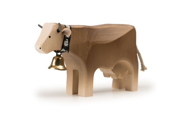 TRAUFFER Kuh 3 stehend Braunvieh