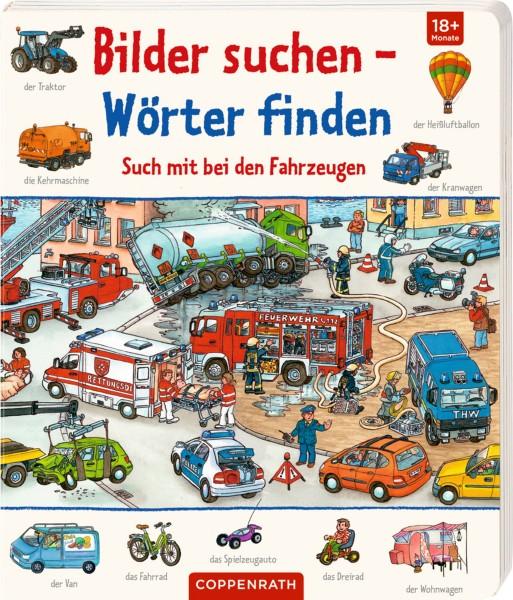 COPPENRATH Such mit bei den Fahrzeugen, Bilder suchen - Wimmelbuch