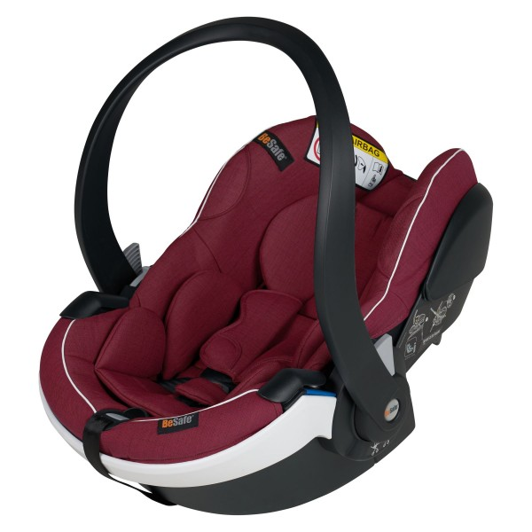 BE SAFE Babyschale iZi Go Modular X1 i-Size burgundy mélange