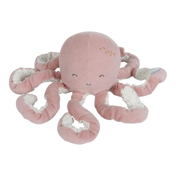 LITTLE DUTCH Kuschel Oktopus - Ocean pink