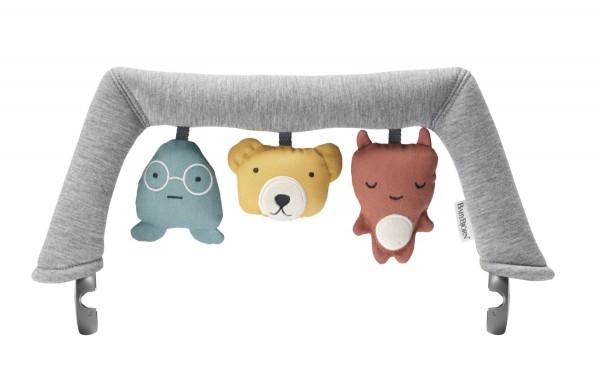 BABY BJÖRN Spielzeug für Babysitter weiche Freunde