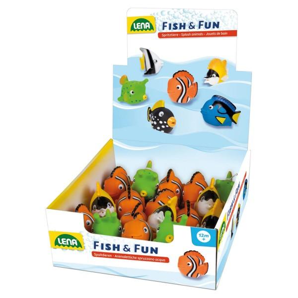 LENA Spritztiere Fische
