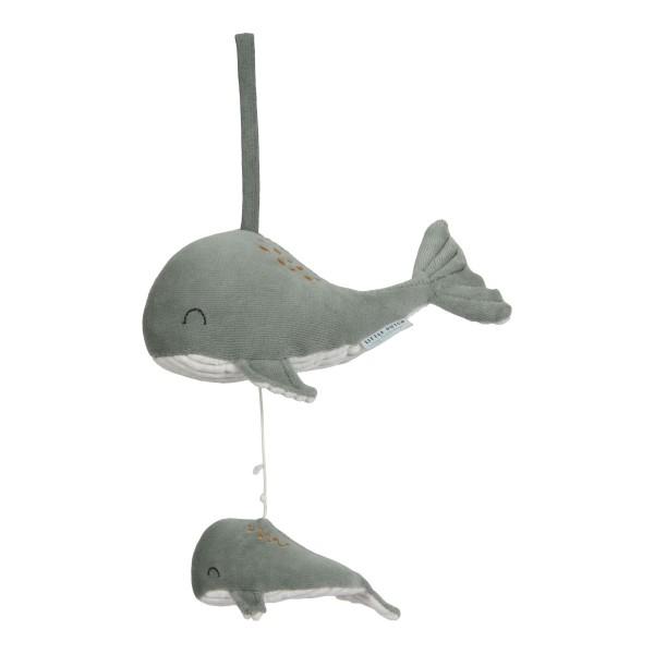 LITTLE DUTCH Spieluhr Wal - Ocean mint