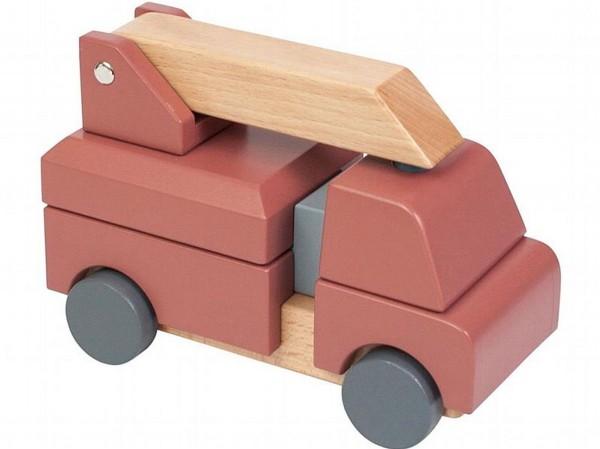 SEBRA Feuerwehrauto aus Holz