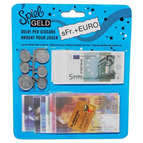 TANNER Spielgeld SFR und EURO
