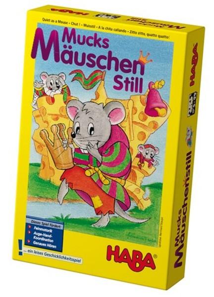 HABA Spiel Mucks Mäuschen Still