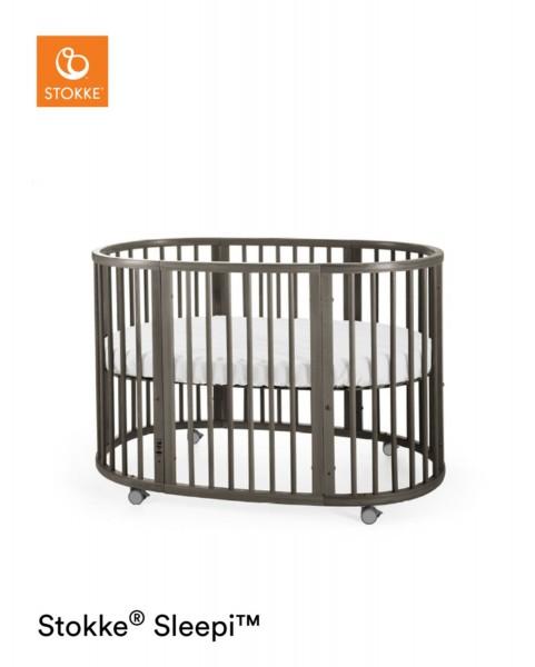 STOKKE® Sleepi Bett Stokke inkl. Matratze 120cm Hazy Grey