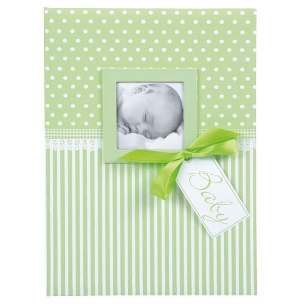 GOLDBUCH Babytagebuch Sweatheart grün