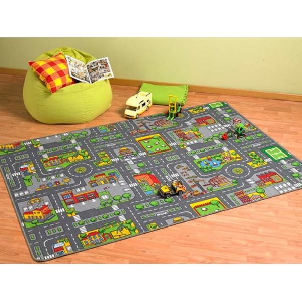 Spielteppich City 100x190cm