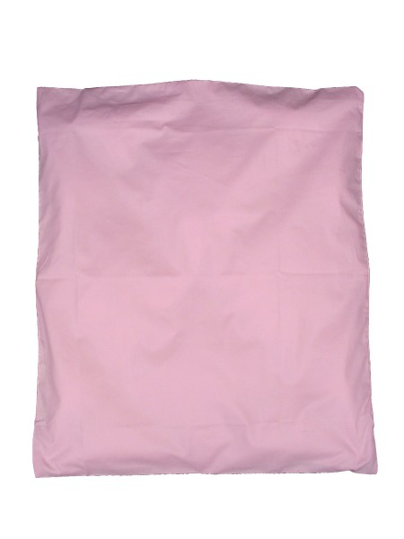 KULI MULI Duvetbezug 80x80cm uni rosa