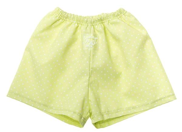 ZEWI bébé-jou Badehose Stern mit Polyurethaneinsatz-hellgrün Gr. L
