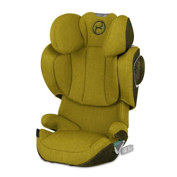CYBEX Solution Z i-Fix Autositz Plus Mustard Yellow