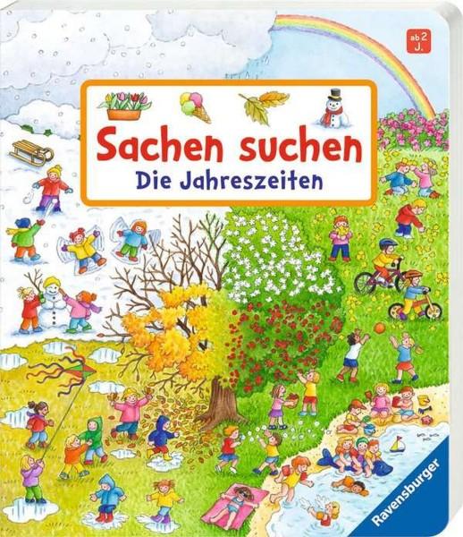 RAVENSBURGER Sachen suchen Wimmelbuch: Die Jahreszeiten