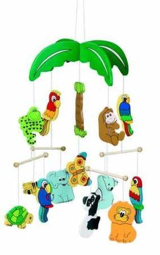 GOKI Mobile Palmen mit Tieren