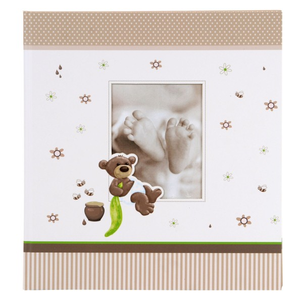 GOLDBUCH Babyalbum Honigbär