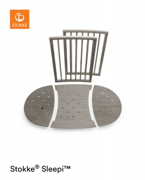 STOKKE® Sleepi Bett Umbausatz Hazy Grey