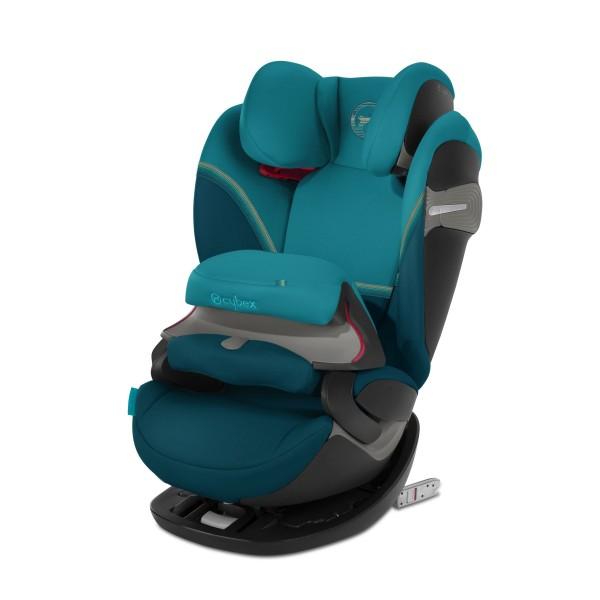 CYBEX Pallas S-Fix Autositz River Blue turquoise