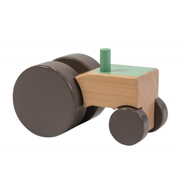 SEBRA Traktor aus Holz, grün