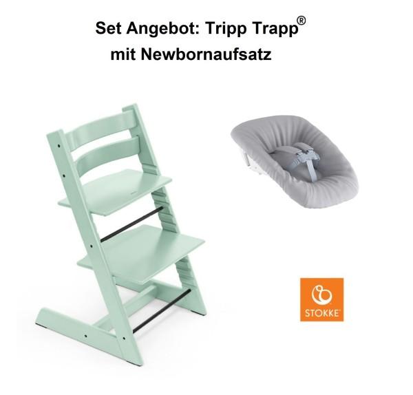 STOKKE Sonderaktion, Tripp Trapp Mint + Newbornset