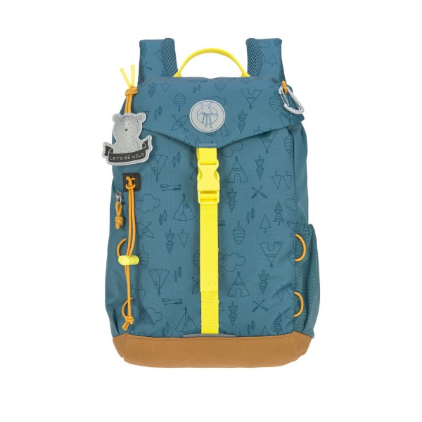 LÄSSIG Mini Backpack/Kinderrucksack adventure blue