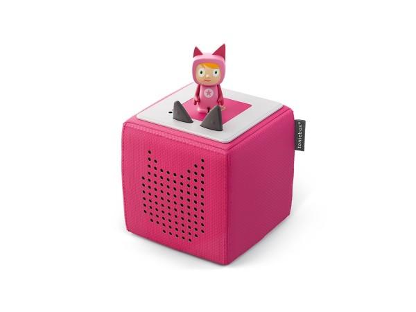 TOYMANIA Toniebox Starterset Pink (Kreativ-Tonie)