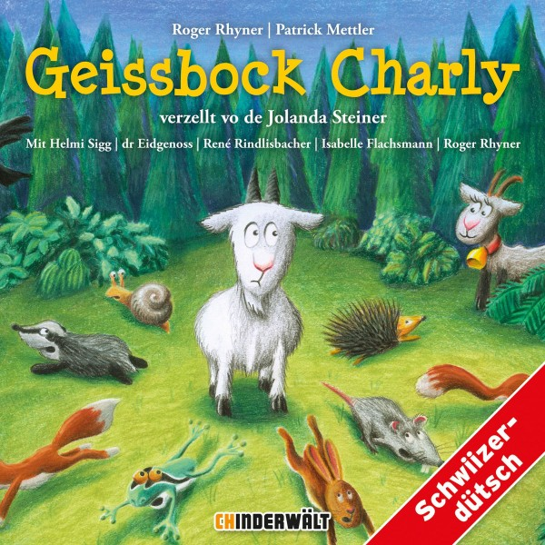 CHINDERWÄLT CD Geissbock Charly