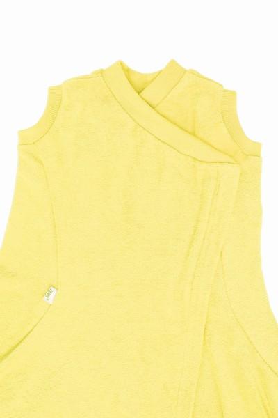 ZEWI bébé-jou Zewi-Decke Spezialmasse-gelb Gilet-RV Gr. 140x200cm
