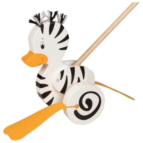 ROBERT KUHN Schiebetier Zebra Ente