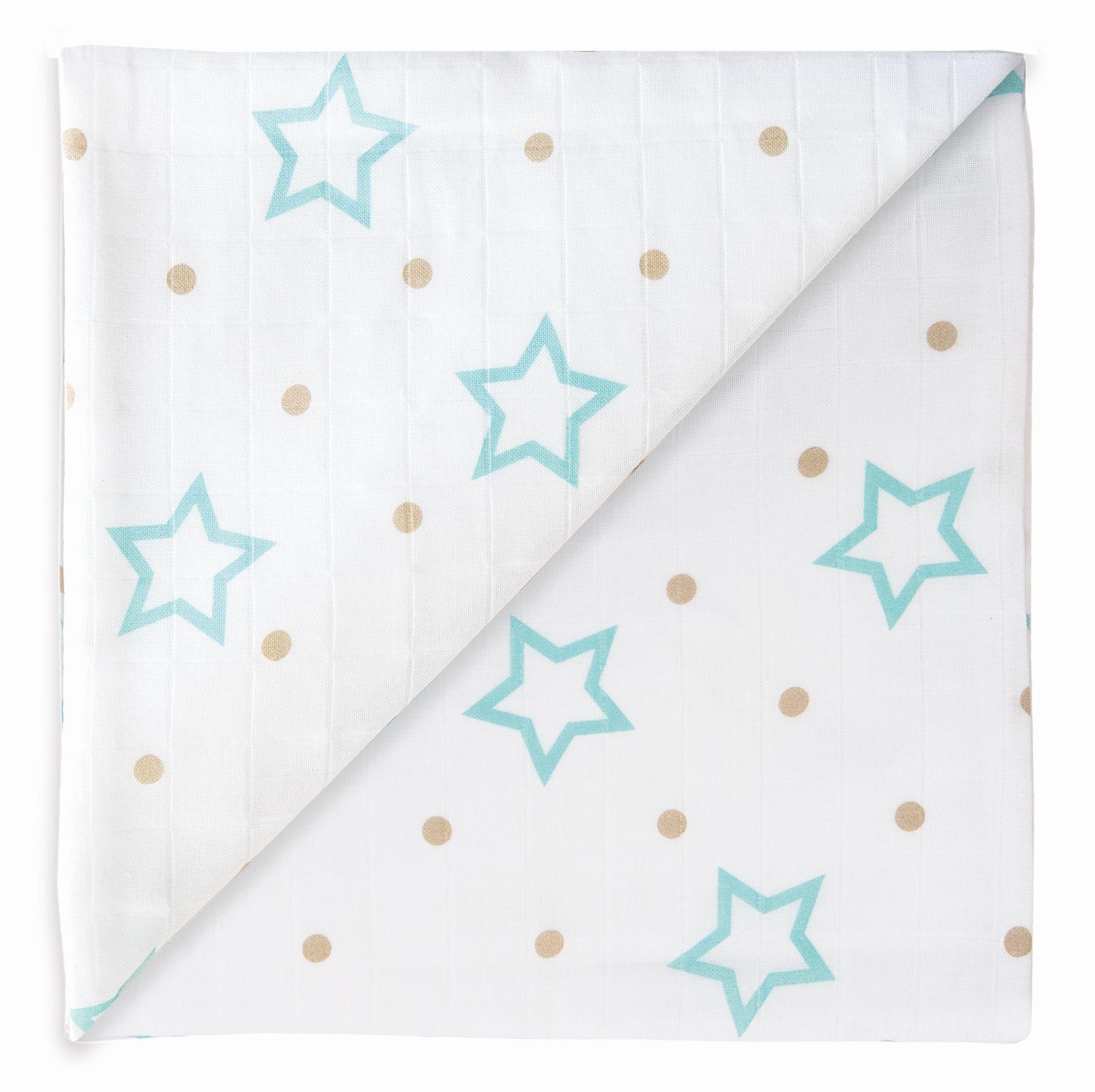 DESIGN: White Stars + Points
