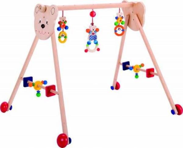 HEIMESS Baby-Fit-Spieltrainer 2in1 Herzbär